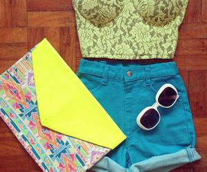 bolsa, shorts, and top cropped image