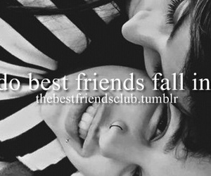 best friends, fall, and in love image