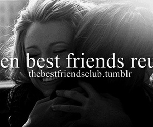 best friends, come together, and friendship image