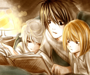 death note, L, and mello image