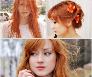 red hair, ginger, and ruiva image