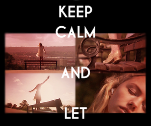 cassie, skins, and keep calm image
