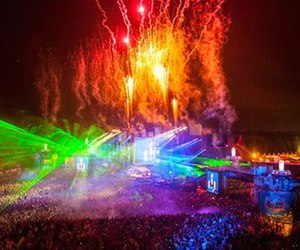 Tomorrowland, concert, and light image