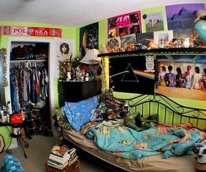 bedroom, quality, and fish eye image