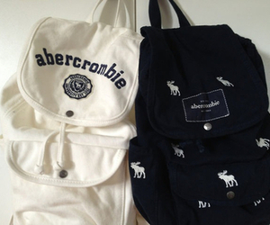 bag, abercrombie, and backpack image