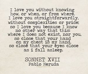 love, quotes, and pablo neruda image