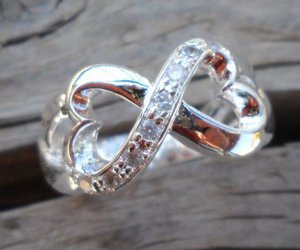 hearts, infinite, and ring image