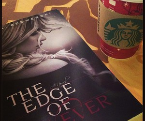 books, coffee, and starbucks image