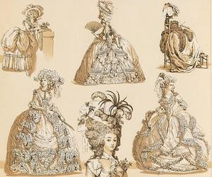 18th century, baroque, and drawing image