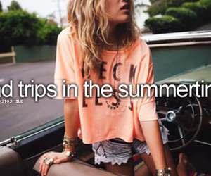 summer, summertime, and trip image