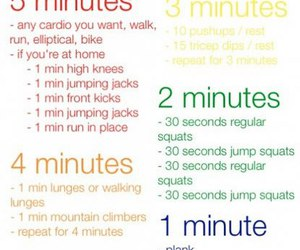 abs, cardio, and diy image