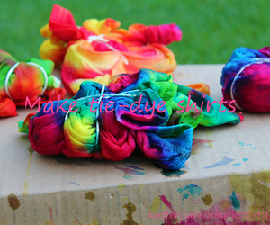 colorful, tie dye, and cool image