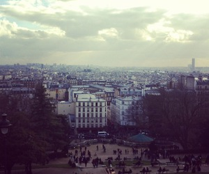 city, montmartre, and sacre image
