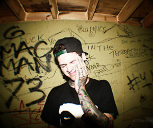 t mills, boy, and tattoo image