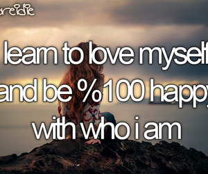 before i die, happy, and myself image