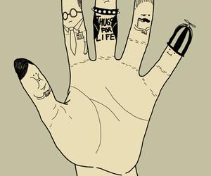 ilustrado, fingers, and cinismo image