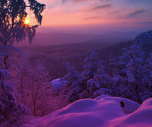 snow, amazing, and nature image