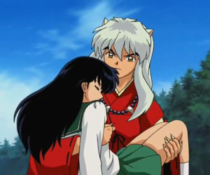 inuyasha, anime, and kagome image