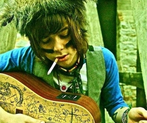 christofer drew, nevershoutnever, and guitar image