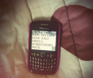 blackberry and typography image
