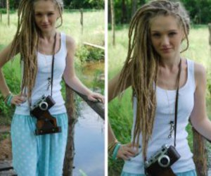 blond, dreads, and lovely image