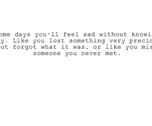 text, quotes, and sad image
