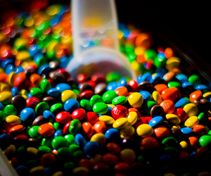 chocolate, candy, and m&m image