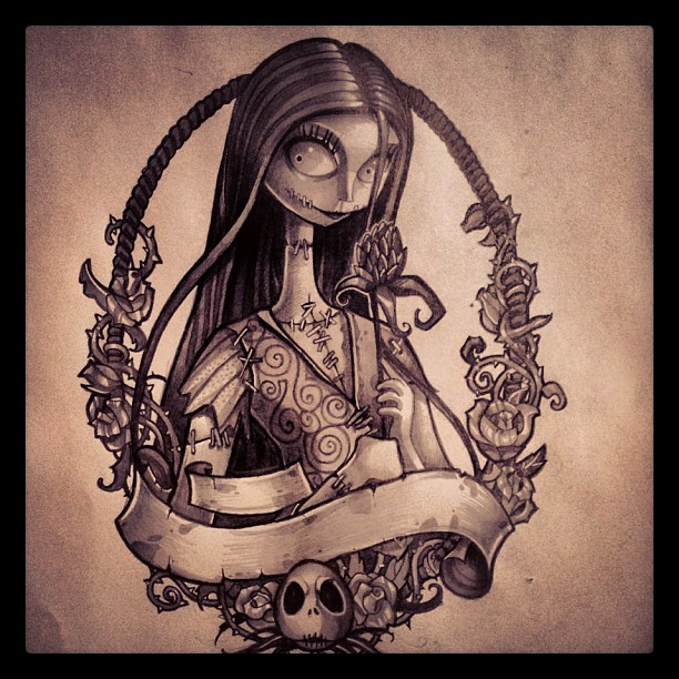nightmare before christmas tattoos - Google Search