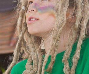child, dreads, and rasta image