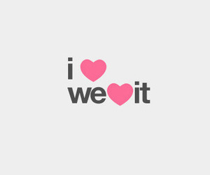 love, we heart it, and heart image