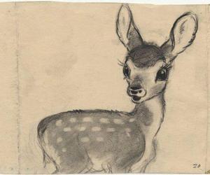 animal, art, and bambi image