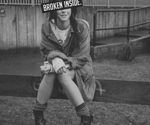 broken, inside, and Effy image