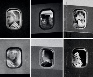 boat, departure, and portraits image