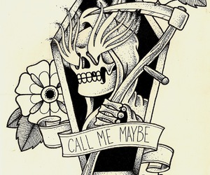 tattoo, ink, and call me maybe image