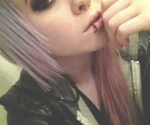 beautiful, girl, and piercing image