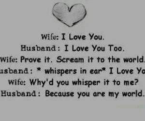 love, quote, and wife image