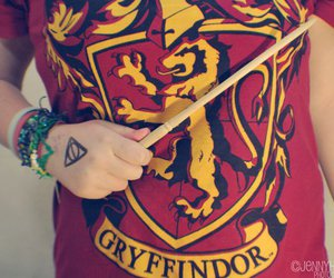 harry potter, gryffindor, and magic image
