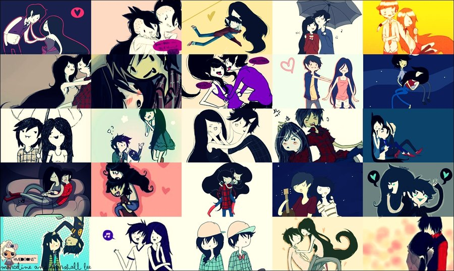 Marceline And Marshall Lee Uploaded By Ni On We Heart It