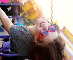 girl, smile, and fun image