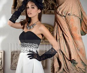 homecoming, prom dress, and dressbraw image