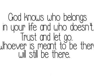 god, quote, and life image