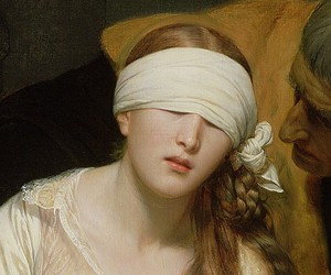 blindfold, execution, and painting image