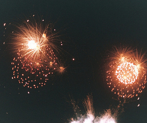 fireworks, photography, and indie image