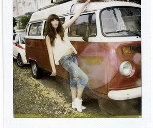 girl, urban outfitters, and car image