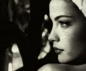 liv tyler, black and white, and photography image