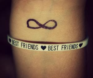 best friend, best friends, and forever image