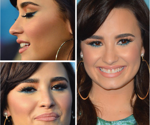 demi lovato, makeup, and music image