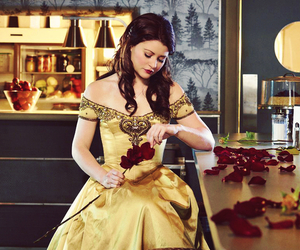 belle, once upon a time, and ️ouat image