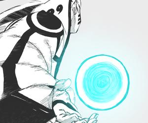 naruto, anime, and rasengan image