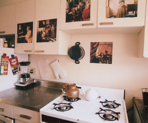 kitchen, vintage, and photography image